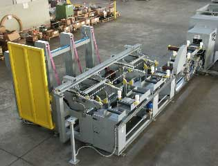 drawn steel copper tube packing line