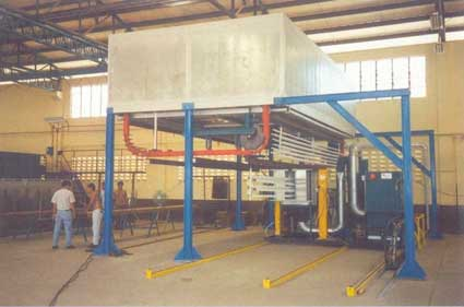 The Compact Powder Coating Plant